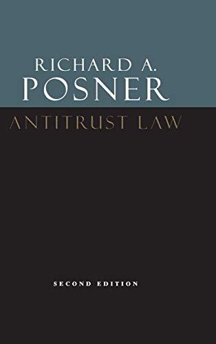 9780226675763: Antitrust Law, Second Edition