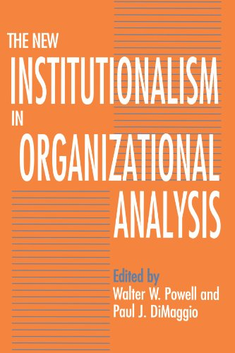 9780226677095: The New Institutionalism in Organizational Analysis