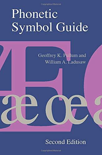 9780226685366: Phonetic Symbol Guide
