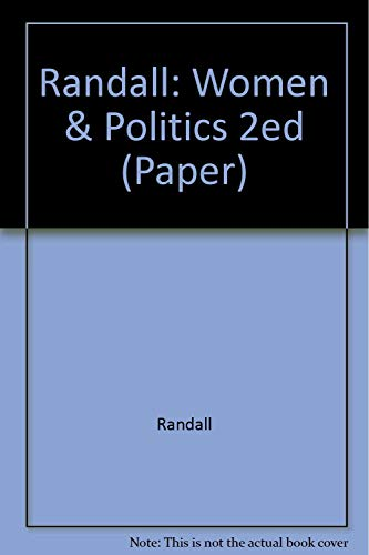 Women and Politics: An International Perspective: Randall, Vicky