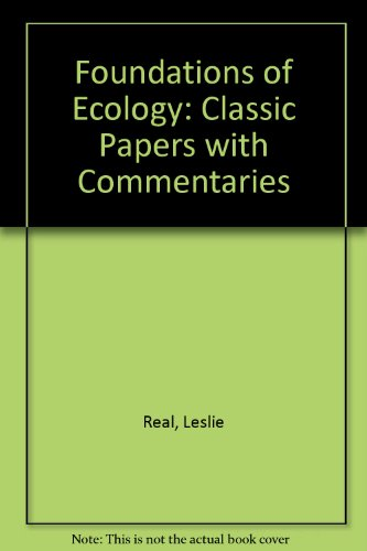 9780226705934: Foundations of Ecology: Classic Papers with Commentaries