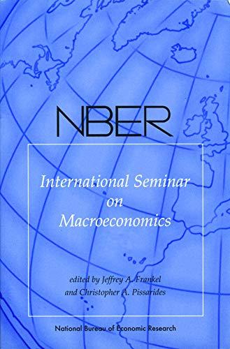 NBER International Seminar on Macroeconomics 2006: v.: Reichlin, Lucrezia &