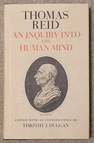 An Inquiry Into the Human Mind: Thomas Reid
