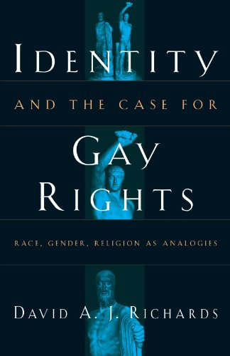9780226712093: Identity and the Case for Gay Rights: Race, Gender, Religion as Analogies
