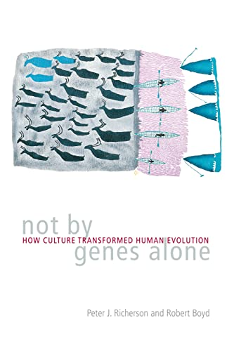 9780226712123: Not by Genes Alone: How Culture Transformed Human Evolution