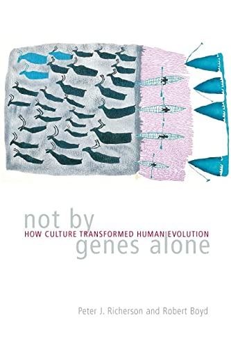 9780226712840: Not by Genes Alone: How Culture Transformed Human Evolution
