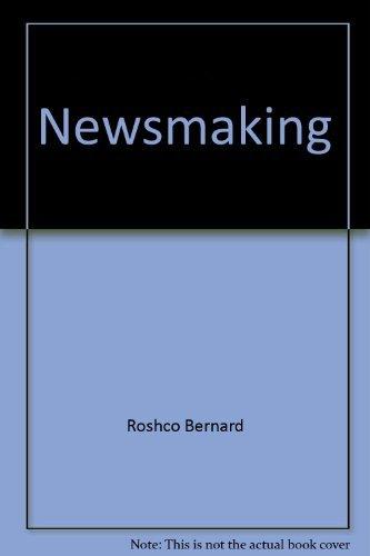 9780226728155: Newsmaking