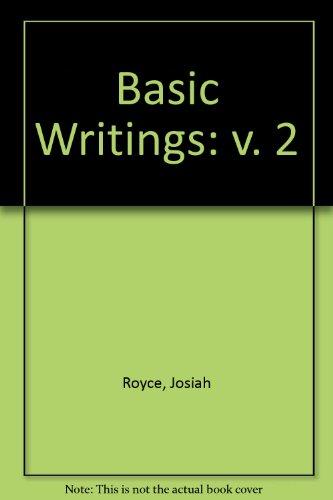 9780226730646: Basic Writings: v. 2