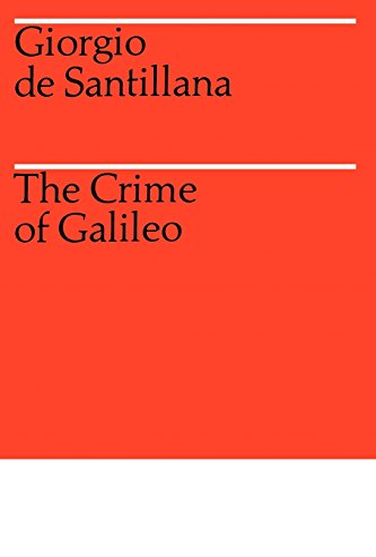9780226734811: The Crime of Galileo