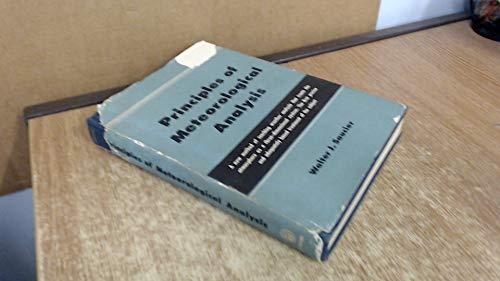 9780226735337: Principles of Meteorological Analysis