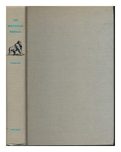 9780226736358: The Mountain Gorilla: Ecology and Behavior