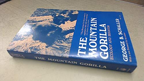 9780226736365: The Mountain Gorilla (Phoenix Books)