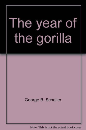 9780226736372: The year of the gorilla