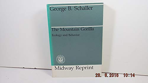9780226736495: The Mountain Gorilla: Ecology and Behavior (Midway Reprint)