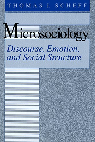 Microsociology: Discourse, Emotion, and Social Structure.: Scheff, Thomas J.