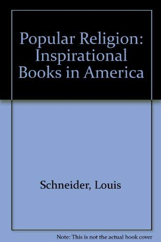 Popular Religion. Inspirational Books in America