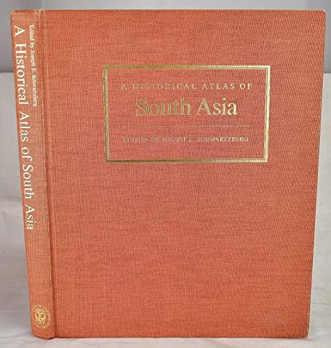 9780226742212: A Historical Atlas of South Asia (The Association for Asian Studies Reference Series, No. 2)