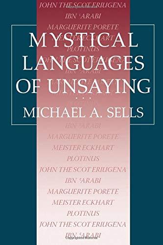 9780226747873: Mystical Languages of Unsaying (National Bureau of Economic Research)
