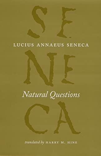 9780226748382: Natural Questions (The Complete Works of Lucius Annaeus Seneca)
