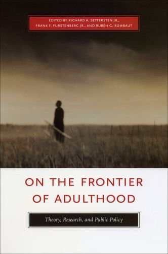 9780226748894: On the Frontier of Adulthood: Theory, Research, and Public Policy (John D. and Catherine T. MacArthur Foundation Series on Mental Health and ... Transitions to Adulthood and Public Policy)