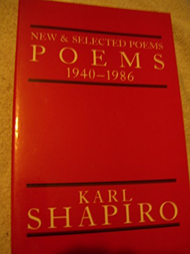 9780226750330: New & Selected Poems, 1940-1986
