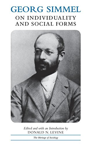 9780226757766: Georg Simmel on Individuality and Social Forms: Selected Writings