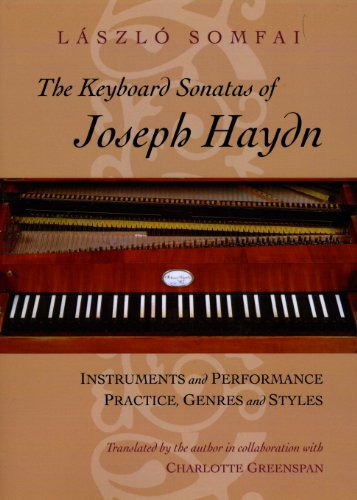 9780226768137: The Keyboard Sonatas of Joseph Haydn: Instruments and Performance Practice, Genres and Styles