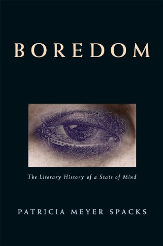 9780226768533: Boredom: The Literary History of a State of Mind