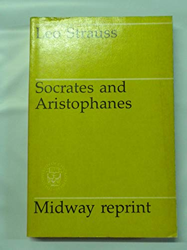 9780226776910: Socrates and Aristophanes (Midway Reprint Series)