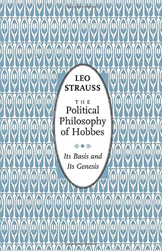 9780226776965: The Political Philosophy of Hobbes: Its Basis and Its Genesis (Phoenix Books)