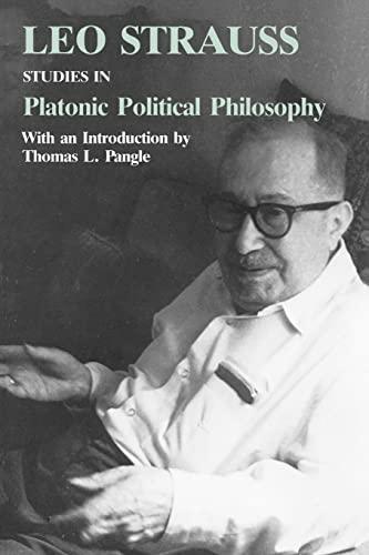 9780226777009: Studies in Platonic Political Philosophy