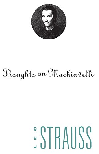 9780226777023: Thoughts on Machiavelli