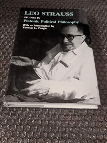 9780226777030: Studies in Platonic Political Philosophy