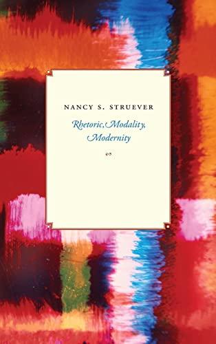 9780226777481: Rhetoric, Modality, Modernity