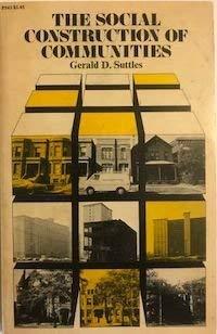 9780226781907: Social Construction of Communities (Studies of Urban Society)
