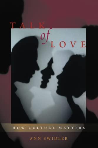 9780226786919: Talk of Love: How Culture Matters