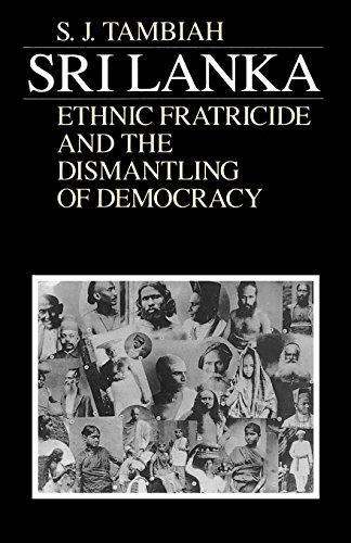 9780226789521: Sri Lanka--Ethnic Fratricide and the Dismantling of Democracy