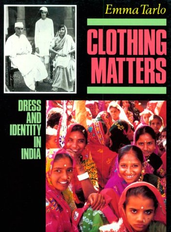 Clothing Matters 9780226789767 What do I wear today? The way we answer this question says much about how we manage and express our identities. This detailed study examines sartorial style in India from the late nineteenth century to the present, showing how trends in clothing are related to caste, level of education, urbanization, and a larger cultural debate about the nature of Indian identity. Clothes have been used to assert power, challenge authority, and instigate social change throughout Indian society. During the struggle for independence, members of the Indian elite incorporated elements of Western style into their clothes, while Gandhi's adoption of the loincloth symbolized the rejection of European power and the contrast between Indian poverty and British wealth. Similar tensions are played out today, with urban Indians adopting  ethnic  dress as villagers seek modern fashions. Illustrated with photographs, satirical drawings, and magazine advertisements, this book shows how individuals and groups play with history and culture as they decide what to wear.