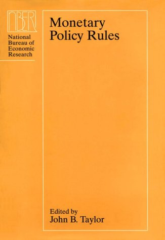 9780226791241: Monetary Policy Rules (National Bureau of Economic Research Conference Report)