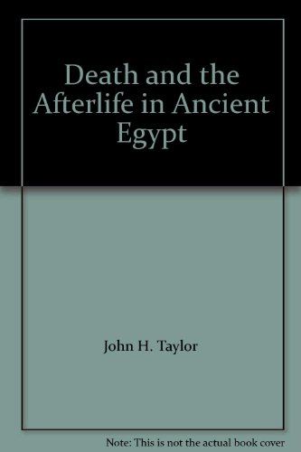 9780226791630: Death and the Afterlife in Ancient Egypt