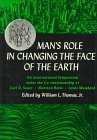 9780226796031: Man's Role in Changing the Face of the Earth