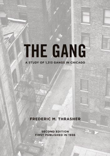 The Gang (Paperback): Frederic Milton Thrasher