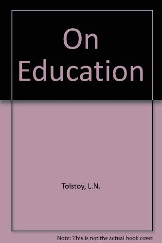 9780226807768: On Education