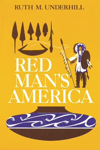 9780226841656: Red Man's America: A History of Indians in the United States