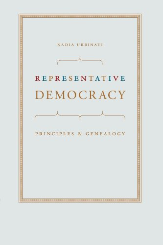 9780226842790: Representative Democracy: Principles and Genealogy