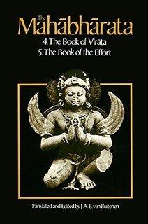 9780226846507: The Mahabharata: Book 4: Book of Virata, Book 5: Book of the Effort.
