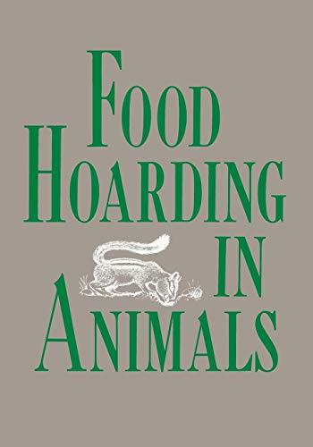 9780226847351: Food Hoarding in Animals