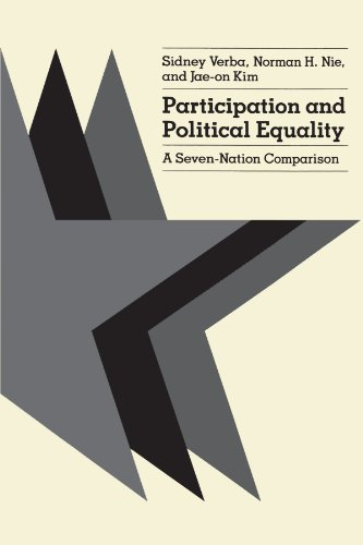9780226852980: Participation and Political Equality: A Seven-Nation Comparison