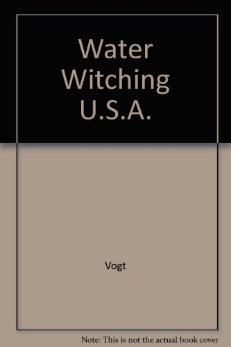9780226862972: Water Witching, U.S.A.
