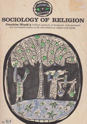 Sociology of Religion (Phoenix Books): Wach, Joachim